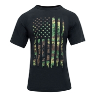 Rothco 10740 Camo US Flag Athletic Fit T-Shirt