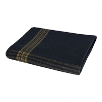 Rothco Navy With Gold Wool Blanket - 1081