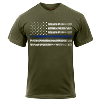Rothco Thin Blue Line T-Shirt 1092