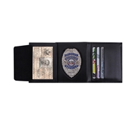 Rothco Leather ID & Badge Wallet - 1134