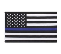 Rothco Thin Blue Line US Flag - 1516