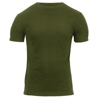 Rothco Athletic Fit Solid Color Military T-Shirt 1740