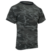 Rothco Black Camouflage T-Shirt 1864