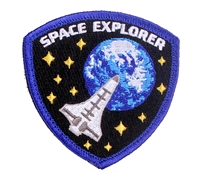 Rothco Space Explorer Morale Patch 1882