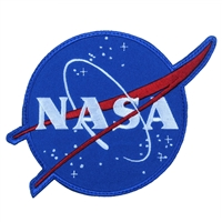 NASA Meatball Logo Morale Patch 1885