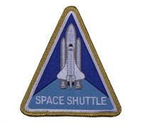 NASA Space Shuttle Morale Patch 1886