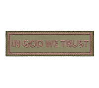 Rothco In God We Trust Morale Patch - 1890