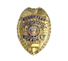 Rothco Gold Deluxe Security Enforcement Officer Badge - 1916