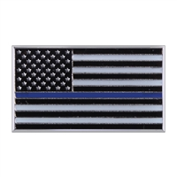Rothco Thin Blue Line Flag Pin 1967