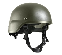 ABS Mich-2000 Replica Olive Drab Tactical Helmet - 1997