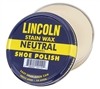 Lincoln Neutral Stain Wax Shoe Polish - 20110