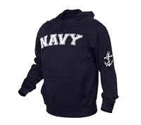 Rothco Navy Blue Navy Pullover Hoodie - 2057