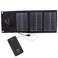 Rothco MOLLE Folding Solar Panel With Power Bank 2117