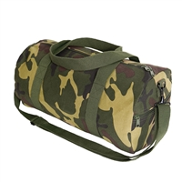 Rothco Woodland Camo Canvas Shoulder Duffle Bag - 2211