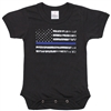 Rothco Infant Thin Blue Line One Piece Bodysuit 2273