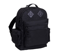 Rothco Black Deluxe Water Resistant Day Pack - 2330