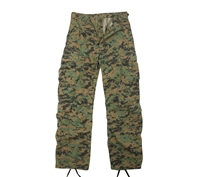 Rothco Woodland Digital Camo Vintage Pants - 2366