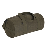 RRothco Waxed Canvas Shoulder Duffel Bag - 2416