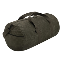 Rothco Waxed Canvas Shoulder Duffle Bag - 2417