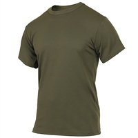 Rothco Olive Drab Quick Dry Moisture Wick T-shirt 2423
