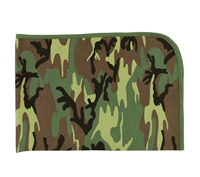 Rothco Woodland Camo Infant Blanket - 2450