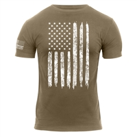Rothco Distressed US Flag T-Shirt 2632