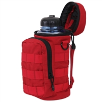 Rothco Red Molle Water Bottle Pouch 2678