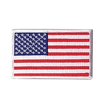 Rothco Embroidered Us Flag Patch With White Border - 2777