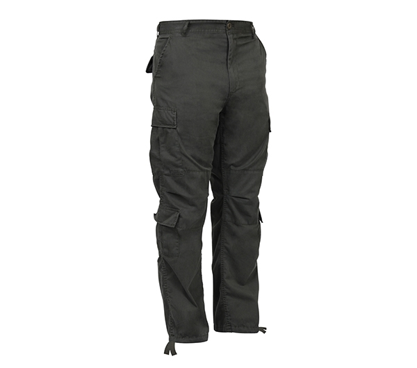 3dd5a03914 Rothco Vintage Olive Drab Paratrooper Fatigue Pants - 2786. View Larger  Photo ...