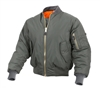 Rothco Sage Enhanced Nylon MA-1 Flight Jacket 2860