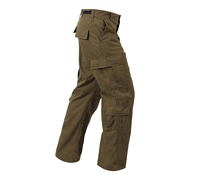 Rothco Vintage Russet Brown Paratrooper Pants - 2886