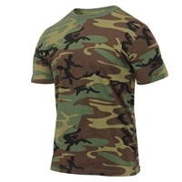 Rothco Athletic Fit Camouflage T-Shirt - 2894