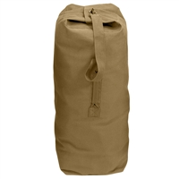 Rothco Coyote Top Load Canvas Duffle Bag 3338
