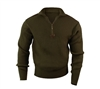 Rothco Olive Drab Acrylic Commando Sweater - 3370