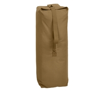 Rothco Coyote Brown Top Load Canvas Duffle Bag 3500
