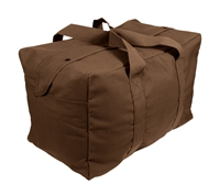 Rothco Brown Canvas Parachute Cargo Bag 3523