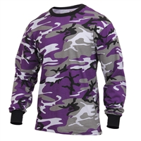 Rothco Ultra Violet Camo Long Sleeve T-Shirt - 3592