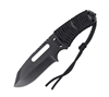 Rothco Black Paracord Knife With Fire Starter - 36742