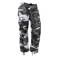 Rothco Womens Camo Vintage Paratrooper Fatigue Pants 3785