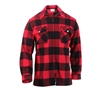 Rothco Red Concealed Carry Flannel Shirt 3966