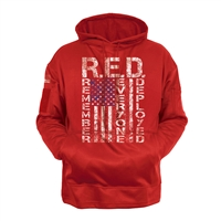 Rothco Concealed Carry Red Hoodie - 4036