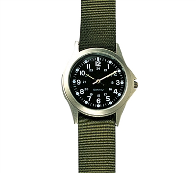 Rothco Military Style Quartz Watch - 4127