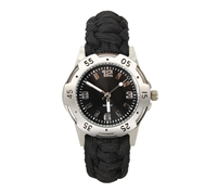 Rothco Black Paracord Bracelet Watch - 4253