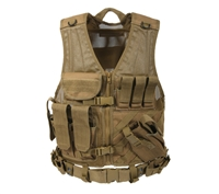 Rothco Coyote Tactical Cross Draw Vest - 4491
