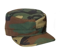 Rothco Woodland Camo Adjustable Cap - 4540