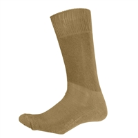 Rothco Coyote Brown Cushion Sole Socks - 4557