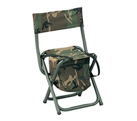 Rothco Woodland Camo Deluxe Stool With Pouch 4578