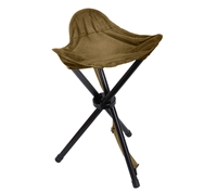 Rothco Coyote Brown Collapsible Stool with Carry Strap 4593