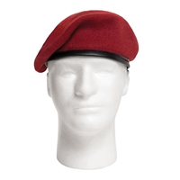 Rothco Military Wool Red Beret - 4901