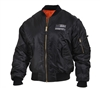 Rothco Thin Blue Line Flag MA-1 Flight Jacket 4951
